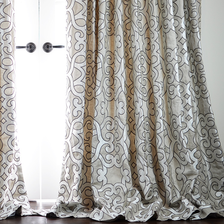 Amboise Linen - Zinc